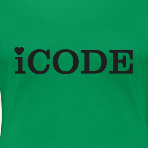 I code - Frauen Premium T-Shirt