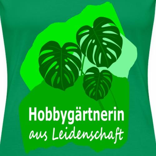 Hobbygärtnerin - Women's Premium T-Shirt
