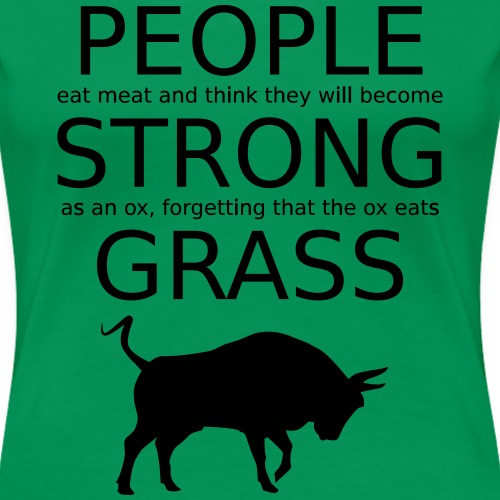 Strong People are Vegan