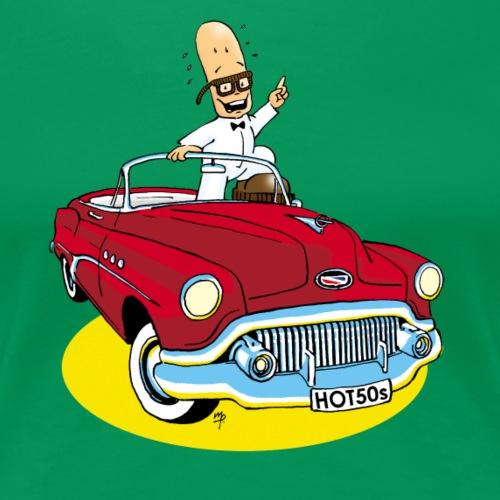 Herr Bohnemann im Buick - Frauen Premium T-Shirt