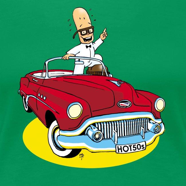 Herr Bohnemann im Buick
