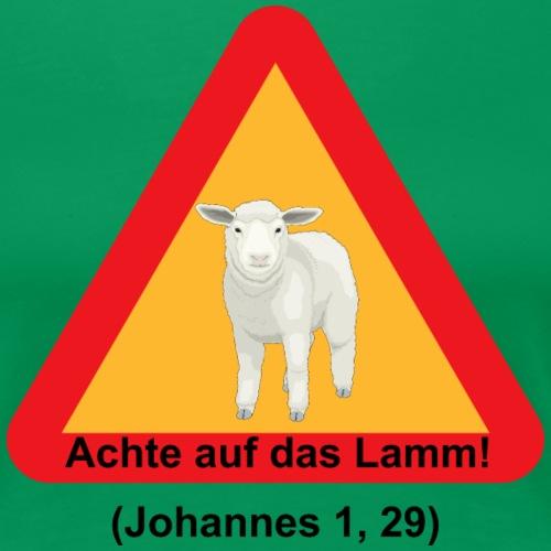 Achte auf das Lamm! (Johannes 1, 29)