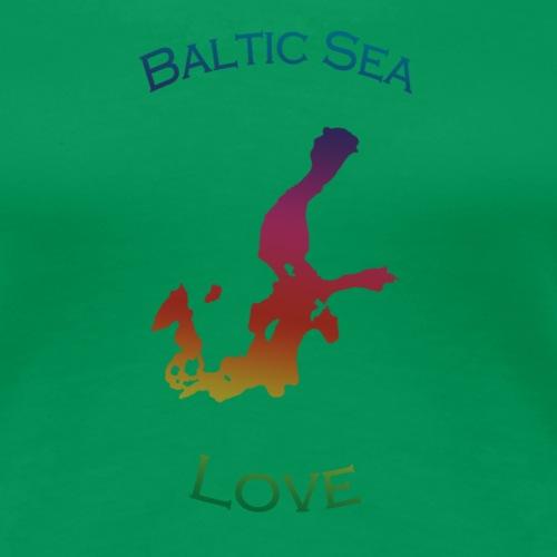 BalticSea Love bunt - Frauen Premium T-Shirt