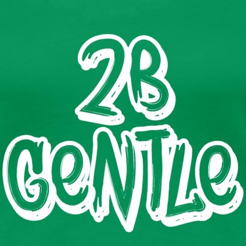 2 B Gentle Logo 2019 - Frauen Premium T-Shirt