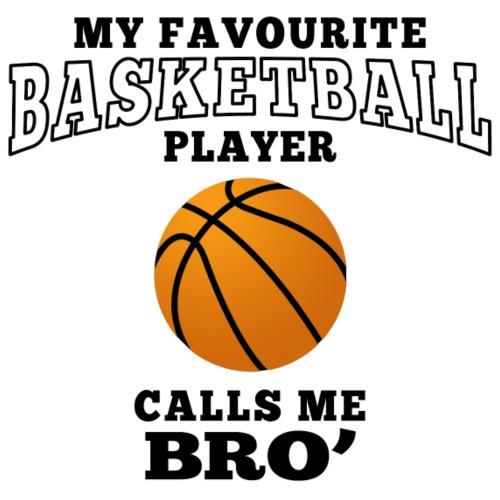 Brother's favourite basketball player - Frauen Premium T-Shirt