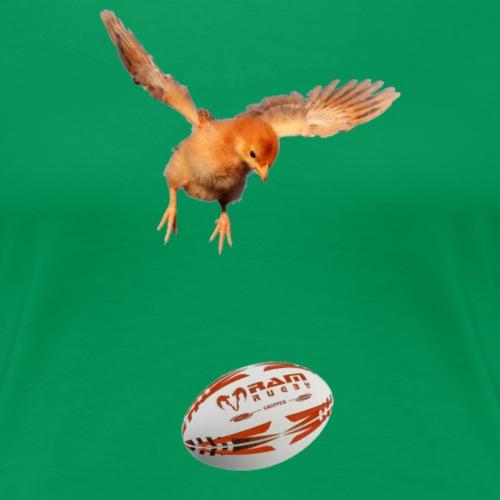 rugbychick - shirt voor meisje rugby shirtsbybart! - Vrouwen Premium T-shirt
