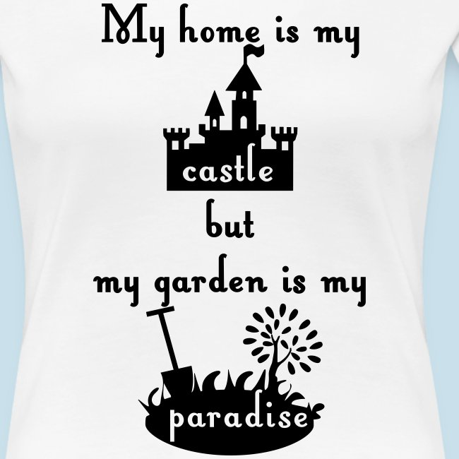 home castle garden paradi