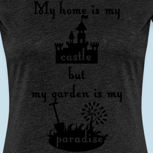 home castle garden paradi
