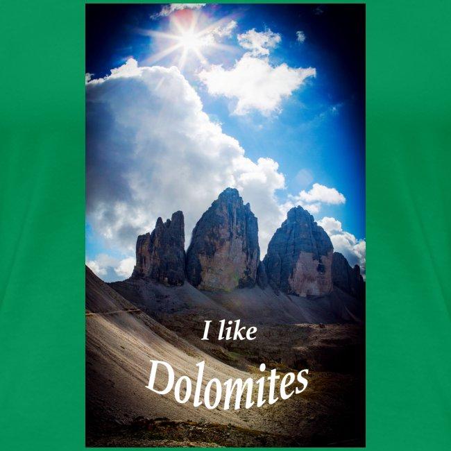 I like Dolomites Kopie