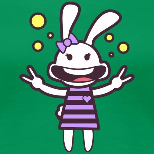 Groovy Rabbit - Women's Premium T-Shirt