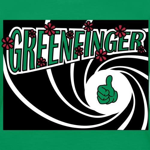 greenfinger mit blümchen7 - Frauen Premium T-Shirt