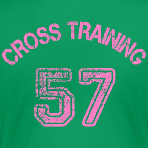 04 - Visuel dos - Cross training 57 - T-shirt Premium Femme