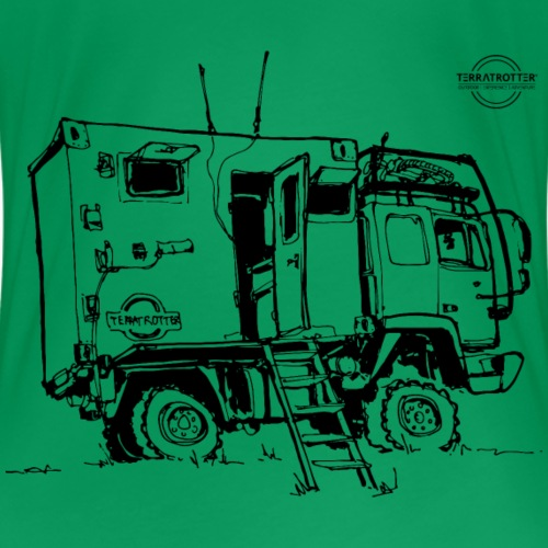 Expedition Truck | Terratrotter® - Women's Premium T-Shirt