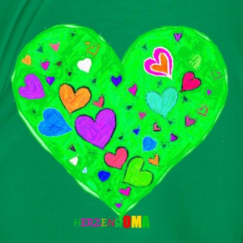 HerzensOma - Frauen Premium T-Shirt