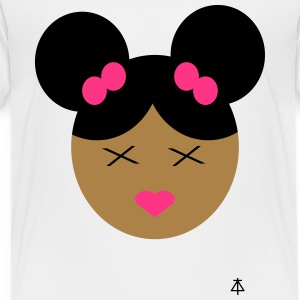 Afro Girl - Kinder Premium T-Shirt