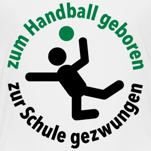 Handball Verein Schule Sportunterricht Training - Kinder Premium T-Shirt