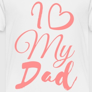 I love my dad - Kids' Premium T-Shirt