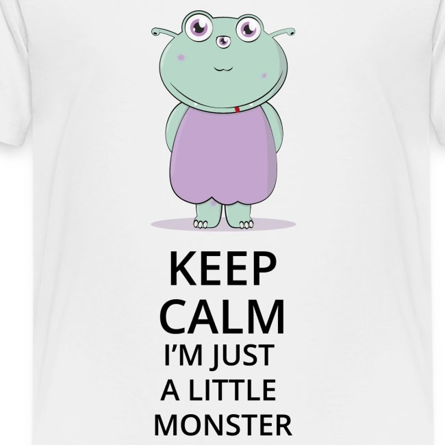 Keep Calm - Little Monster - Petit Monstre