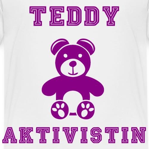 Teddy Aktivistin - Kinder Premium T-Shirt