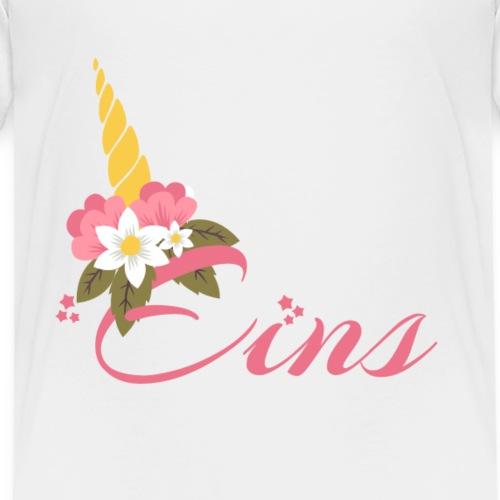 Unicornerischen 1ter Geburtstag - Kinder Premium T-Shirt