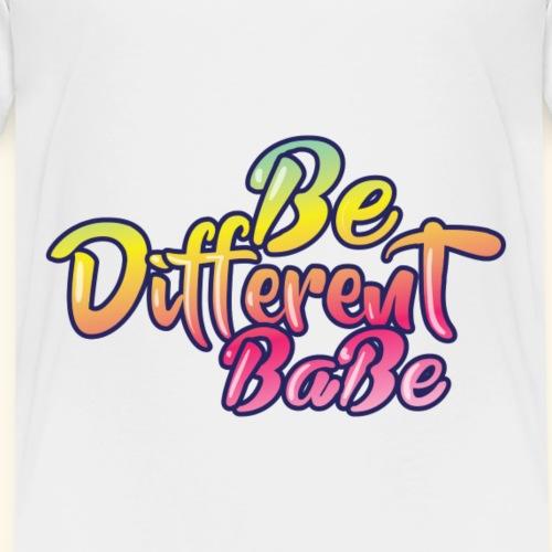 Be different Babe - Kinder Premium T-Shirt