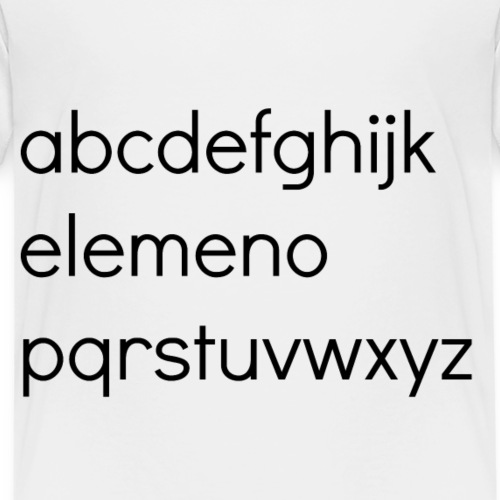 elemeno1 - Kids' Premium T-Shirt