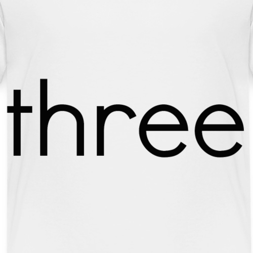 threeb - Kids' Premium T-Shirt