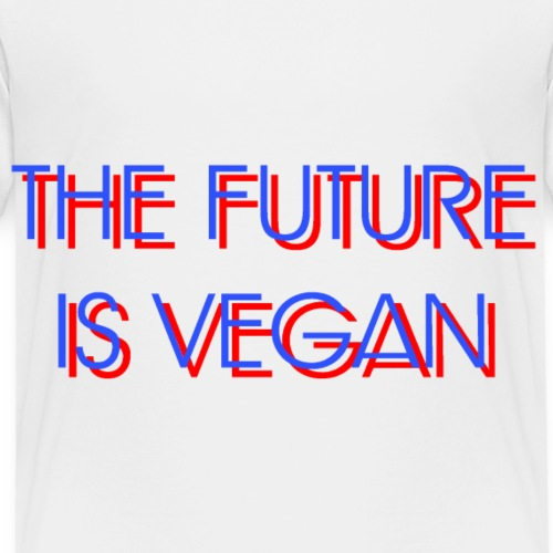 The Future Is Vegan - Kids' Premium T-Shirt