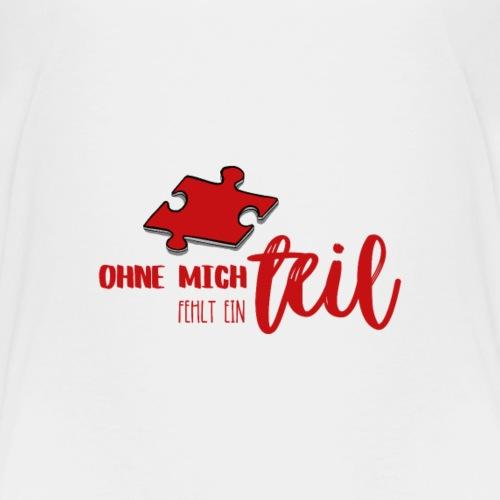 Puzzleteil für Eltern-Baby-Partnerlook - Kids' Premium T-Shirt
