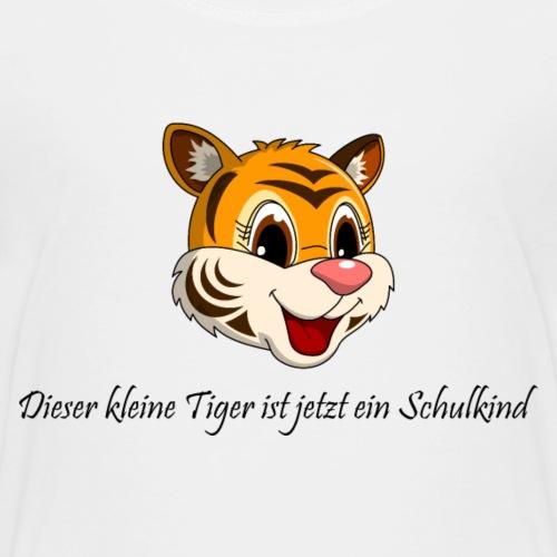 lorey.w kleiner Tiger, Mädchen, Schulkind - Kinder Premium T-Shirt