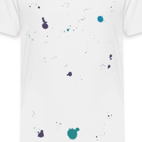 OMG! Got paint on my shirt! (woman) - Kinderen Premium T-shirt