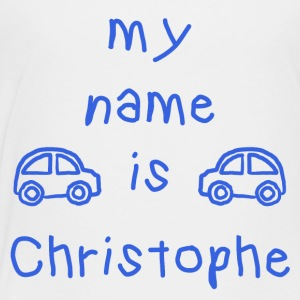 CHRISTOPHE MY NAME IS - Premium T-skjorte for barn