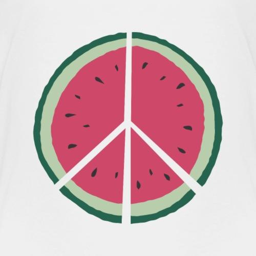 watermelon peace - Kinder Premium T-Shirt