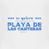 Te quiero Playa de Las Canteras - Camiseta premium niño
