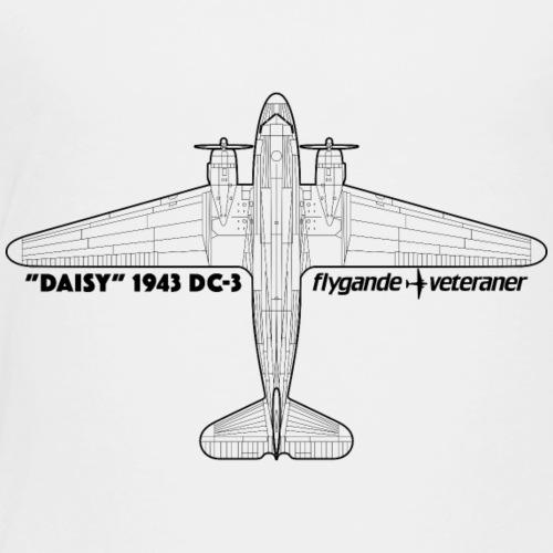 Daisy Blueprint Top 1 - Premium-T-shirt barn