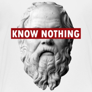 KNOW NOTHING SOCRATES - Kids' Premium T-Shirt
