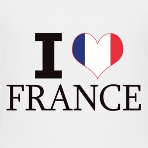 I LOVE FRANCE - Kinder Premium T-Shirt