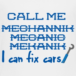 Mechanic: Call Me Mechanic - Jag kan fixa bilar. - Premium-T-shirt barn