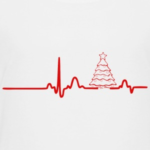 ECG HEARTLINK CHRISTMAS red - Kids' Premium T-Shirt