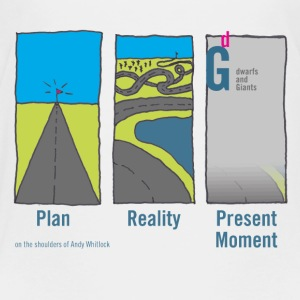 Plan-reality-present moment - Kids' Premium T-Shirt