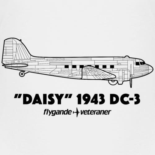Daisy Blueprint Side 1 - Premium-T-shirt barn