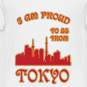 Tokyo I am proud to be from - Kids' Premium T-Shirt