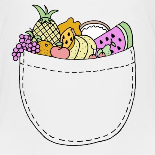 Fruit Pocket - Kids' Premium T-Shirt