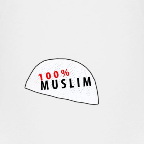 100% Muslim! - Kinder Premium T-Shirt
