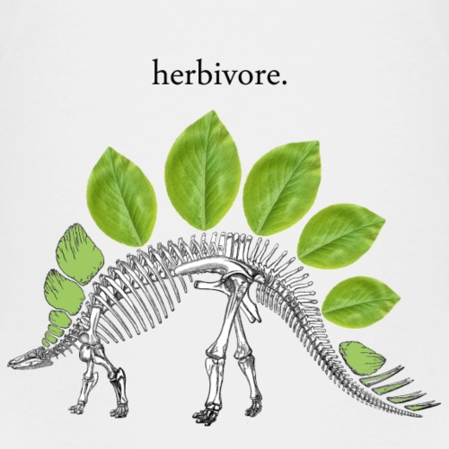Herbivore Skeleton 2 - Kids' Premium T-Shirt