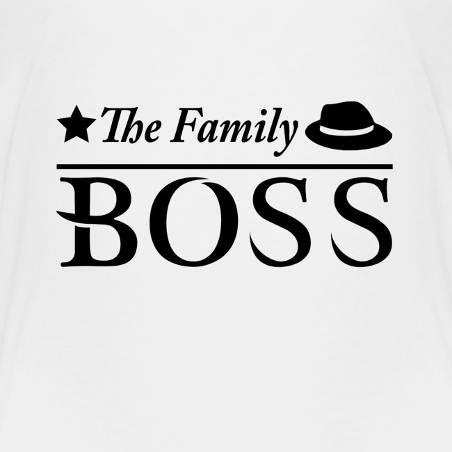Late Night Designs The Family Boss Kinder Premium T Shirt
