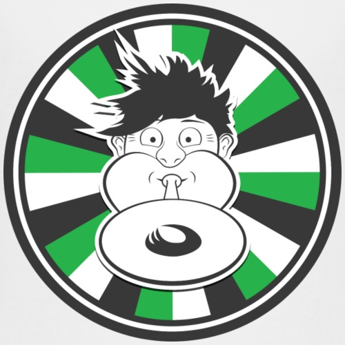 Druckluft Grün - Kinder Premium T-Shirt