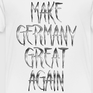 Make Germany Great Again Stahl 001 AllroundDesigns - Kinder Premium T-Shirt