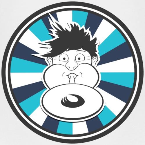 Druckluft Blau - Kinder Premium T-Shirt