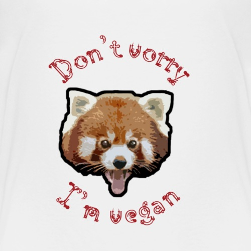 Don t worry I m vegan - T-shirt Premium Enfant